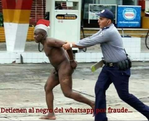 Detenido el negro del whatsapp por fraude