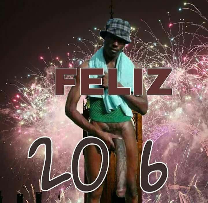 Feliz año 2016 del Negro del Whatsapp