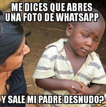 Hijo del Negro del Whatsapp