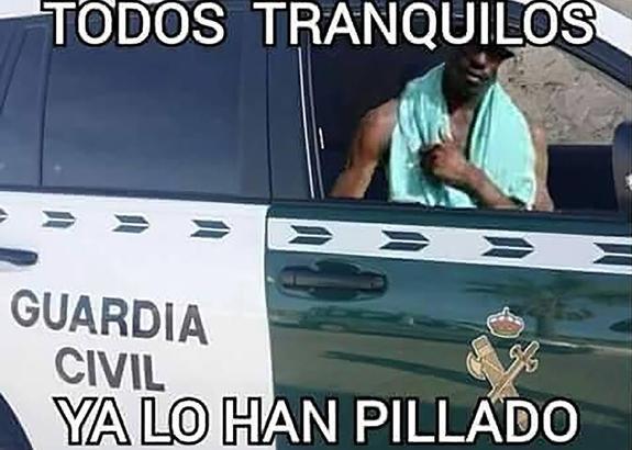 Negro del whatsapp detenido