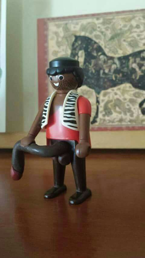 Negro del whatsapp playmobil