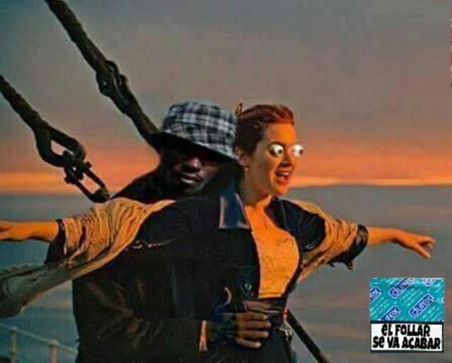 Titanic el Negro Del Whatsapp
