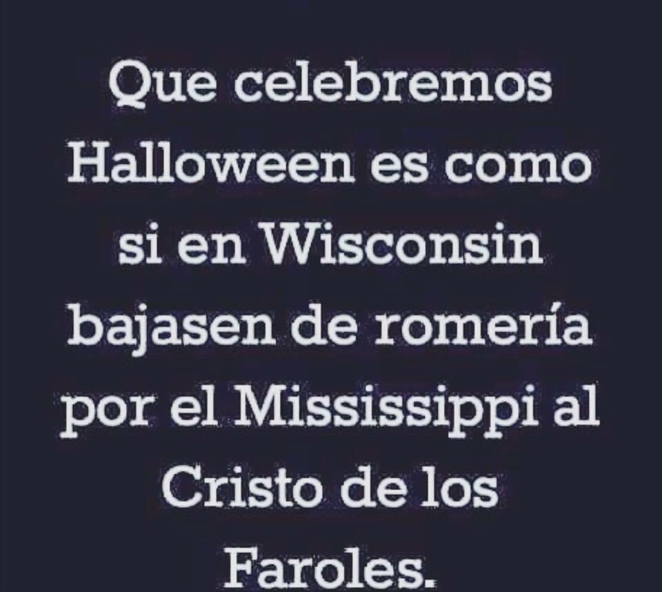 Halloween y el cristo de los faroles