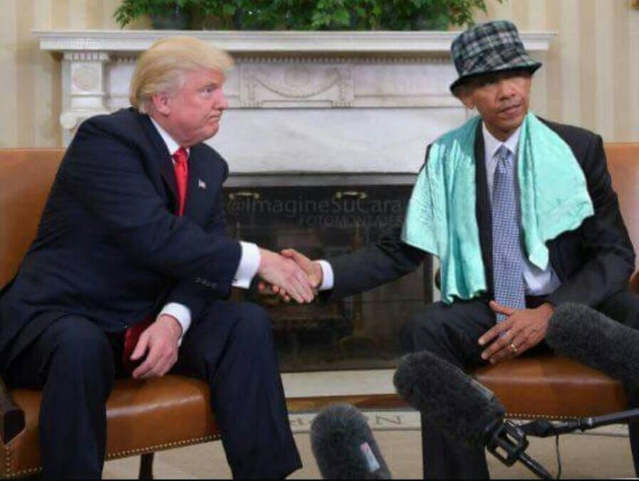 Obama es el negro del whatsapp