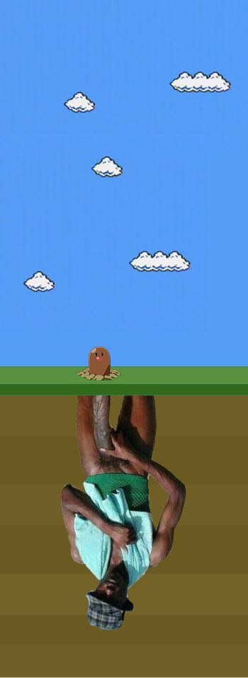 Negro del Whatsapp súper Mario