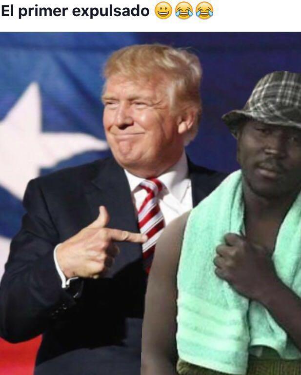Trump y el Negro del Whatsapp