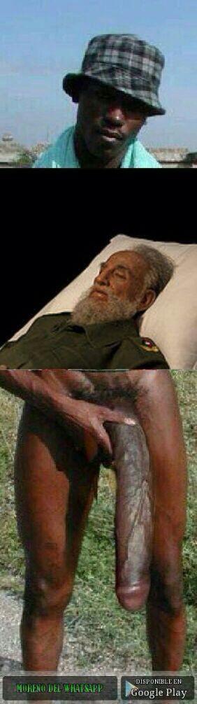 Fidel castro muere imagen trampa negro del whatsapp