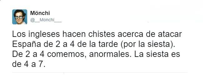 Siesta de los españoles